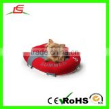 "High quality 50""*60"" red boat plush bed for dog wholesale"