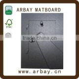 Wholesale 2.0mm thickness black paper frame backing board for frame