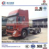 Dongfeng 6*4 type 340 Hp KL model tractor with water tank