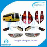 Golden dragon XML6127 spare parts bus front light/tail lamp/fog lamp