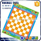 Kids play chess game educational toy checkers