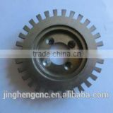 High precision custom made high hardness stainless metal viation parts