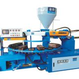PVC outsole injection molding machine