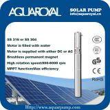 Solar Pumping Systems - Boreholes,Wells,Irrigation DC solar well pumps - 4SP14-4/(Integrated Type)