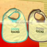 Cheap customized children's cartoon printing baby bibs design your own bibs