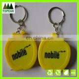 Mini tape measure/advertising measuring tape apple shaped ruler