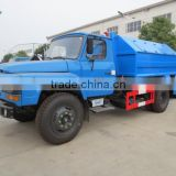 DONGFENG 4*2 Detachable compartment garbage truck 6 ton