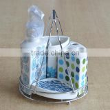 4pcs ceramic bathing set with decal priting