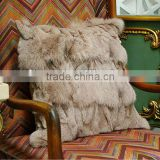 new car cushion autumn and winter cushion imitation fox fur cushion wholesale
