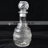 wholesale glass bootle cheaper wine decanter bottle