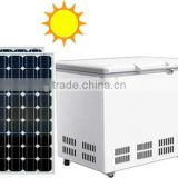 255L DC Compressor Single Cabinet Chest Freezer Solar Powered