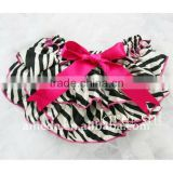 Hot Pink Zebra Satin Ruffles Panties Bloomers BSZ5