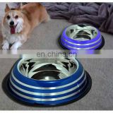 pet bottle/ stainless steel dog bowl/ pet bowl large dogs available size