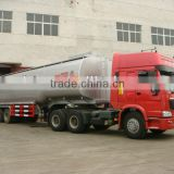 Cheap 50000 Litres oil transport tanker truck trailer TAZ9400GYY for sale semi dump trailer