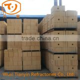 High quality high alumina brick For working line of low capacity ladles walls and upper level of walls lining