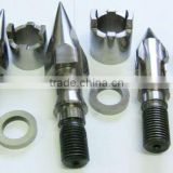 Injection moulding screw accembly/tips for plastic machinery(screw element) seat, ring valve)