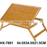 Custom Small Bamboo Children Furniture Folding Bed Study Table For Kids