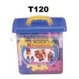 91pcs Wisdom PE blowing building block with bucket set