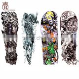 Cheap Price 48*17 CM Waterproof Full Arm Tattoo Sticker