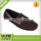 OEM ODM Service Less Rubbing PU Leisure Mens Leather Loafers Casual Shoes