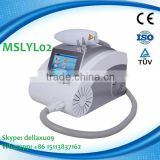 MSLYL02A Newest 1064nm/532nm Laser Tattoo Removal Machine/q Haemangioma Treatment Switch Nd Yag Laser Machine Tattoo Removal Vascular Tumours Treatment