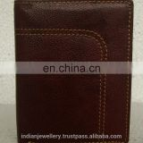 pure leather wallets exporter, genuine leather wallets manufacturer