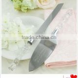 high quality exquisite cake/pizza knife&small shovel for wedding souvenir/Wedding decorative wholesale tableware