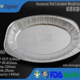 Aluminum Foil Container Mould 6180