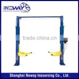 used 4 ton Clear floor 2 post car lift auto maintenace equipment for sale                                                                         Quality Choice                                                     Most Popular