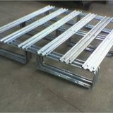 Galvanized storage Stackable Metal Logistics Pallet For Warehouse