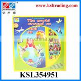 plastic funny learning book toys beautiful custom music book
