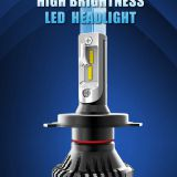 Automobiles motorcycles 60W H7 led lighting car DC 9-32V led Headlight Bulb