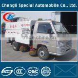 Chinese cheapest 68HP 4x2 foton forland mini street sweeper