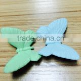 Butterfly DIY environmental protection silicone chopsticks pad for children