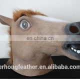 Health Latex Rubber Horse Head Mask Costume Halloween Gangnam Style Dance