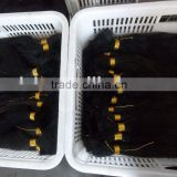 34'' virgin single/raw hair/hair braid extension/weaving weft extension/ /pre-bonded/clip on human hair remy extension