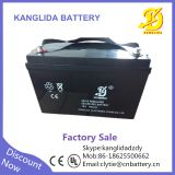 Kanglida 12v 100ah lead acid ups battery for solar