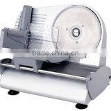 Semi-automatic electric meat slicer with 10/8 inches blade diameter