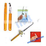 New! Deluxe Portable Fishing Rod Pen Kit Fits In Your Pocket(Gold)