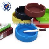 pocket portable silicon round pocket ashtray
