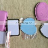 blank metal compact mirror