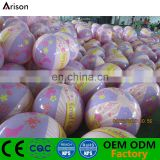 Colorful printing inflatable small beach ball inflatable CMYK printing beach ball