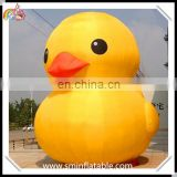 Commercial giant inflatable duck, inflatable swim duck model, inflatable yellow duck replica for outdoor