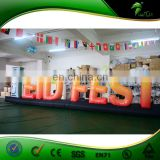 Hot Sale Advertising Parade Inflatable Letter / Custom Led Light Up Letter at Factory Price
