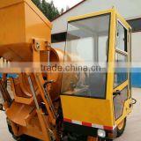 4 wheel driven 0.5 cubics meters drum capacity concrete mixer truck