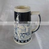 Customized Fashion Ceramic Beer Mug