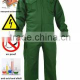 Cotton Breathable <b>Fire</b> <b>Resistant</b> Coverall with reflective tape
