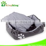 French square dog bed 2pcs/set