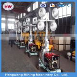 2016 hengwang Outdoor Light tower with generator/ Lighting for construction site or mining