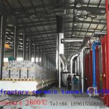 Continuous furnace 150mFiring of ceramic products 1600℃